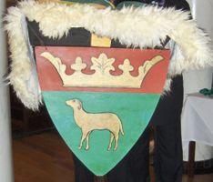 Le blason de l'Ordre du Mouton d'Or
