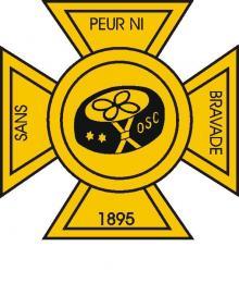 La croix de l'OSC. Devise: sans peur ni bravade
