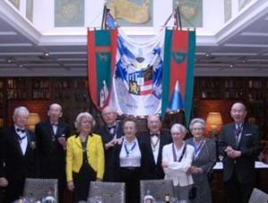 Les membres du mouton d'or historique lors du banquet du Mouton d'or organisé par l'ANLO en l'an XVIII