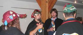 La délégation turinoise au banquet de l'an XV